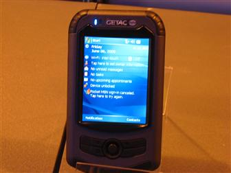 Getac PS535E rugged PDA