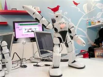 MSI 101-C robot is designed for entertainment and interactive purpose