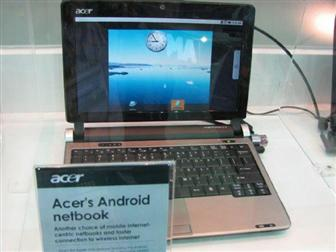 Acer's dual-OS netbook