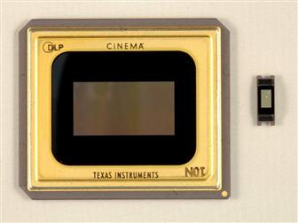 Texas Instruments (TI) Cinema chip with DLP Pico chip