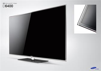 Samsung showcasing design innovations and smarter LED TV at CES 2011 - the LED D6400