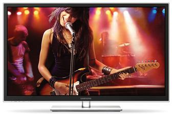 Samsung Electronics Full HD 3D plasma TV, the D6500