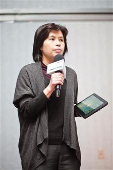 Cathy Yeh, Senior Group Manager, Business Marketing Organization, Microsoft Taiwan (Photo: DIGITIMES)