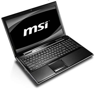 MSI FX620DX notebook