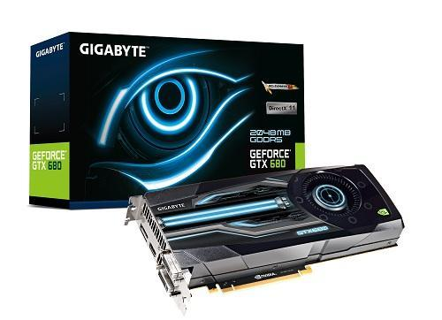 GIGABYTE GeForce GTX 680 graphics card