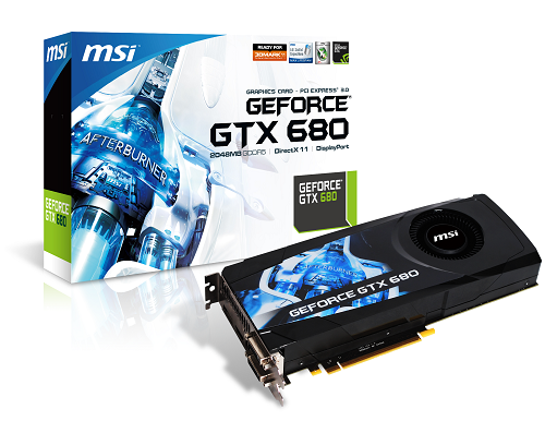 MSI GeForce GTX 680 graphics card