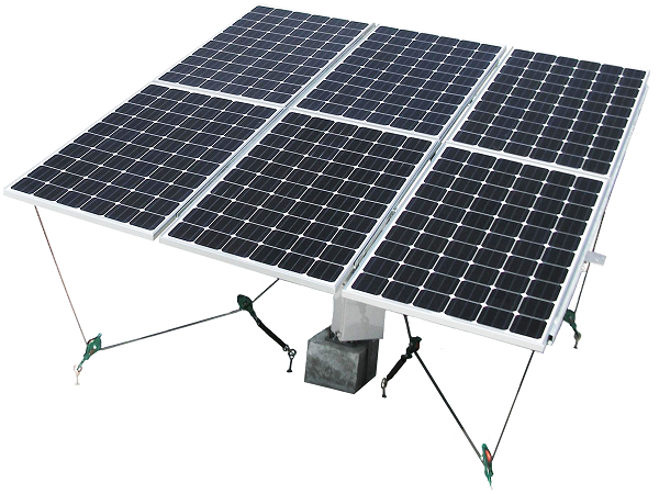 TOPPER SUN's iPV Tracker, Dual Axis Tracker, TS-T6006 Rooftop / Ground type