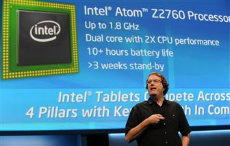 Intel executive Mike Bell details the latest roadmap at CES 2013