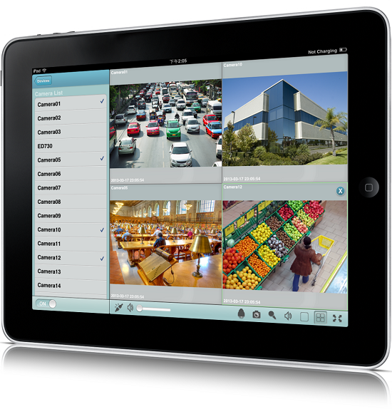 MobileFocus HD is designed for iPad and can be downloaded from the iTinus App Store