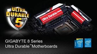 Gigabye 8 Series Ultra Durable motherboards