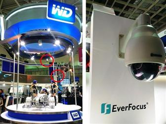 EverFocus showcases award-winning speed dome at WD booth