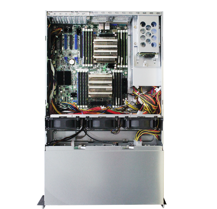 Incorporated with Intel Server Board to provide powerful and high efficiency solution for cloud related application