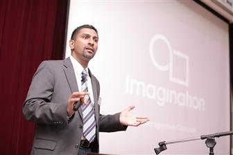 Amit Rohatgi, vice president of mobile solutions for Imagination Technologies