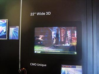 CMO 22-inch 3D display