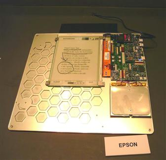 E-Ink cooperates with Epson on e-paper
