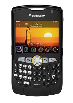 RIM's push-to-talk smartphone BlackBerry Curve 8350i