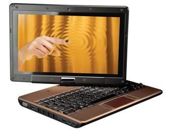 Gigabyte Touch Note T1028 series netbook