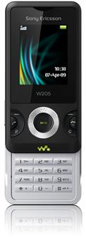 Sony+Ericsson+Walkman+phone+W205+