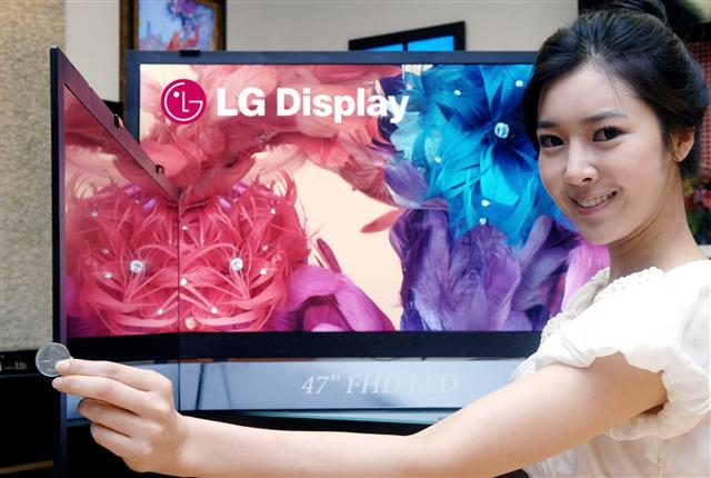 LG Display 5.9mm-thick LED-backlit TV Panel