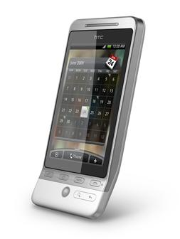 HTC Hero Andriod-based smartphone