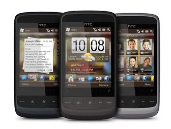 HTC Windows Mobile 6.5 smartphone
