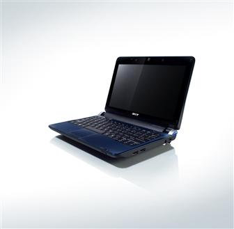 Aspire One AOD250 netbook with dual-boot OS