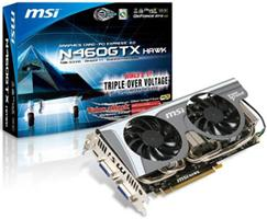 MSI N460GTX HAWK Talon Attack graphics card