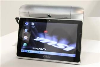 CES 2011: MSI Staging tablet PC