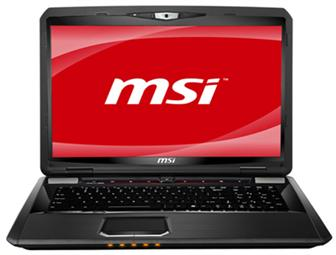 MSI GT783 gaming notebook