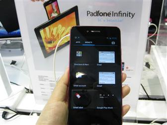 Asus Padfone Infinity in Computex 2013