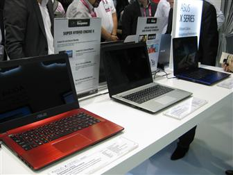 Asus X series notebook