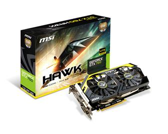 MSI N760 Hawk graphics card