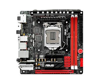 Asustek Maximus VI Impact mini-ITX gaming motherboard