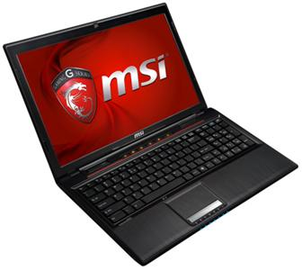 MSI GP series gaming notebooks