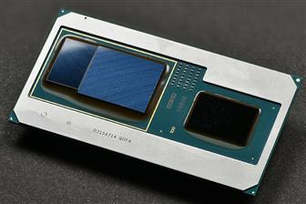 Intel eighth-generation Core processor with integrated Radeon RX Vega M GPU