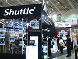 Shuttle booth at Computex 2009