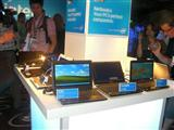 Intel displaying Atom-based netbooks