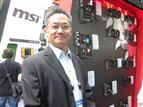 Charles Jiang, MSI executive vice president of motherboard and graphics card business