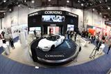 Corning Gorilla Glass concept car at CES 2017
