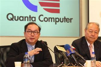 Quanta+chairman+Barry+Lam+%28left%29+and+vice+chairman+CC+Leung