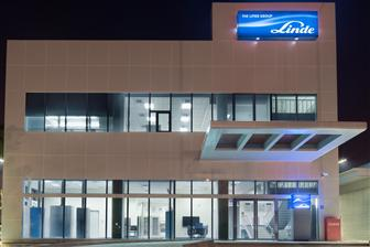 Linde LienHwa's new electronics R&D center in Taichung, Taiwan