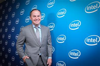 Intel CEO Bob Swan in Taiwan