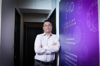 FiO Technology founder and CEO George Chu  Photo: Shihmin Fu, Digitimes, September 2019
