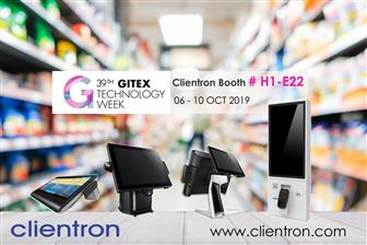 Clientron to introduce its latest POS and Self-service Kiosk at GITEX 2019