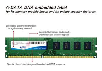 A%2DData+adopts+DNA+authentiction+technology+to+protect+its+IP