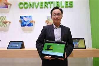 Jerry+Kao%2CIT+products+business+division+general+manager+at+Acer
