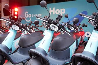 Gogoro+Viva+for+GoShare+services+in+Taipei