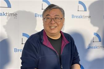 Breaktime chairman Eric Yeh