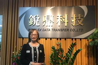 JY Huang, vice president of Impelex Data Transfer   Photo: Chloe Liao, Digitimes, December 2018