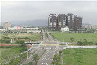A view of Tanhai New Town